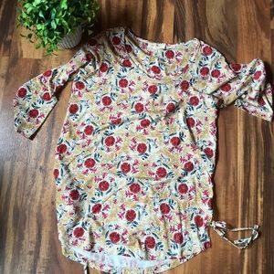 Fat Face floral tunic top 4